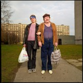 Dita Pepe, Self Portraits With Men, 2004