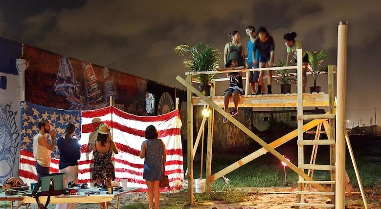 Simón Vega, Sub-Tropical Social Sculpture, Locust Projects, 2014