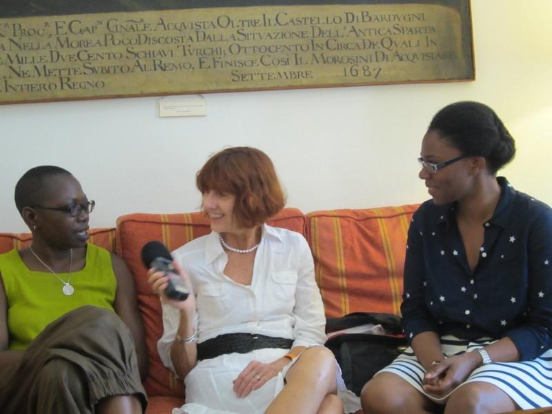 Andrea Fatona, Cathy Byrd, and Sally Frater