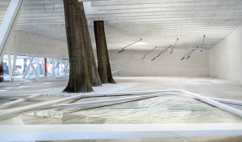 Camille Norment, Rapture installation, Nordic Pavilion, May 2015
