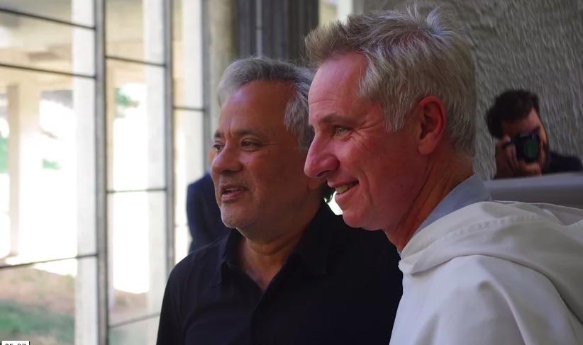 Anish Kapoor and Brother Marc Chauveau at La Tourette