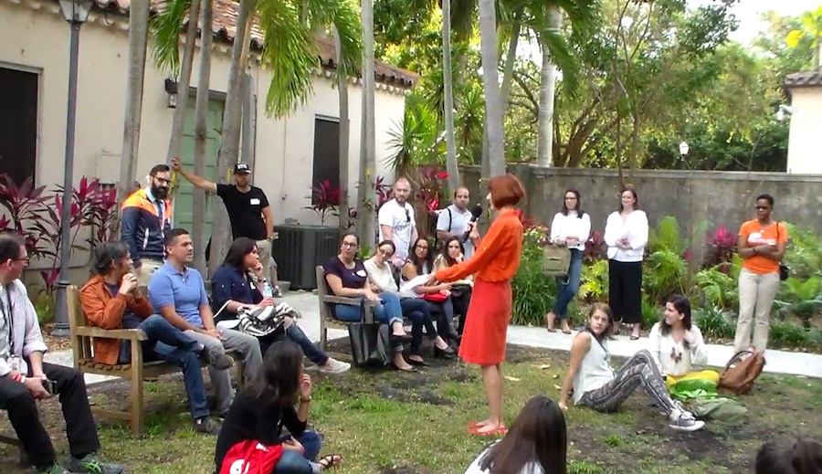 Creative Mornings Miami with Cathy Byrd