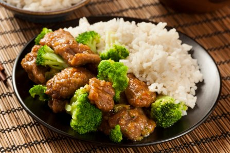 Homemade Asian Beef and Broccoli with Rice