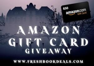 Fresh Book Deals Halloween giveaway banner