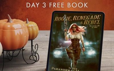 Bountiful Book Giveaway: Day 3- Rogue, Renegade & Rebel