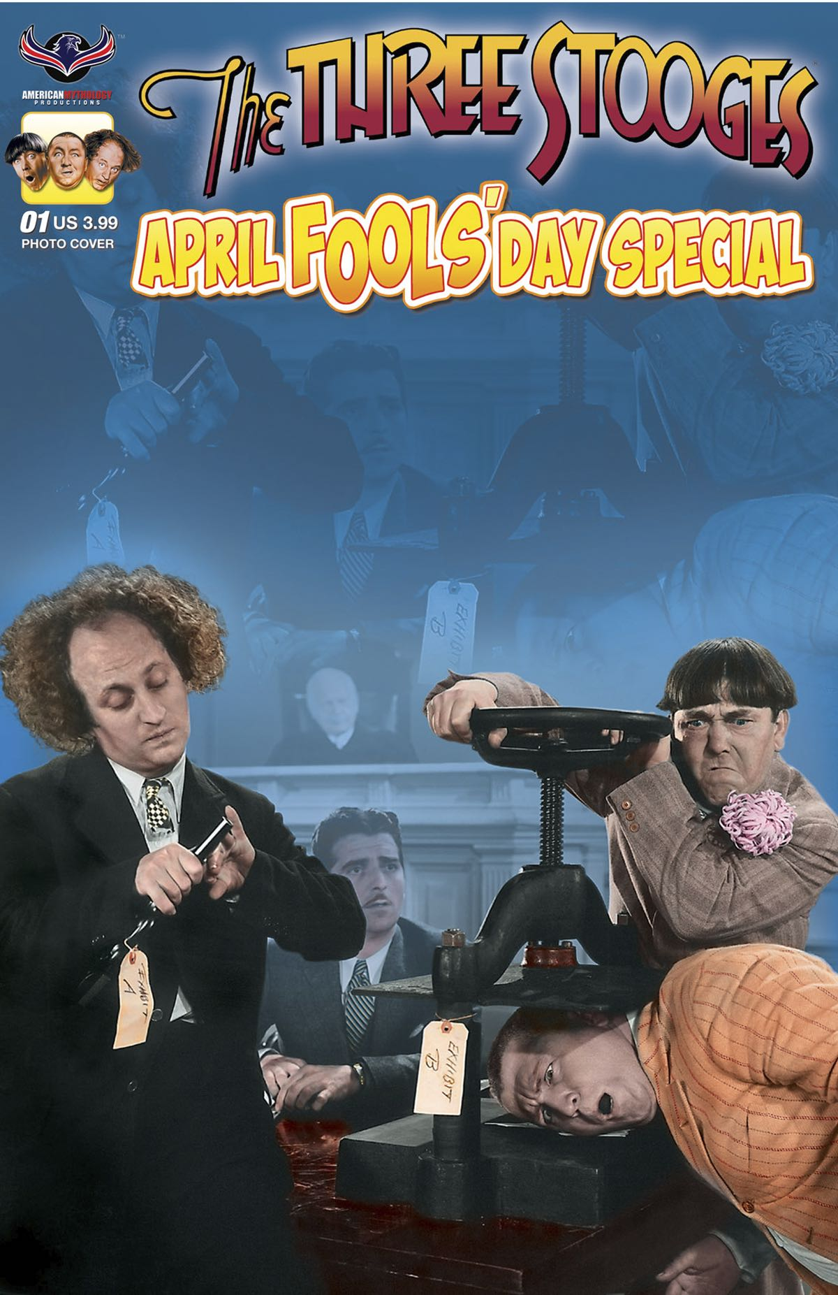 The Three Stooges April Fools Day Photo Cover