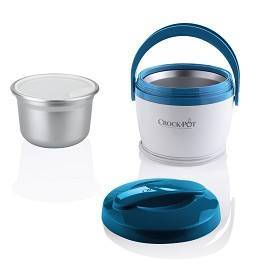 tiny crockpot blue