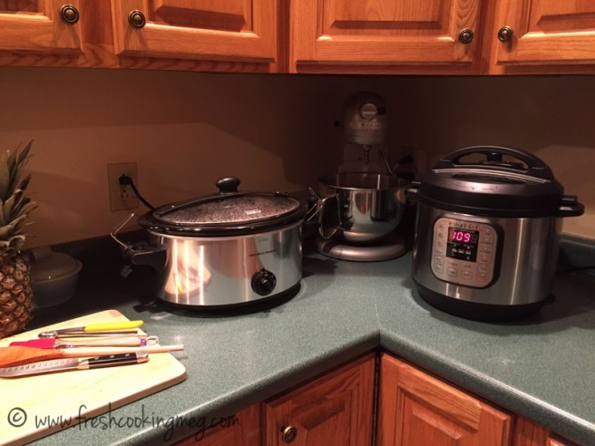 Double crock pot day