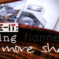 Make-it Monday: Altering Old Boxy Flannels - Getting the Perfect Fit from a Button Shirt