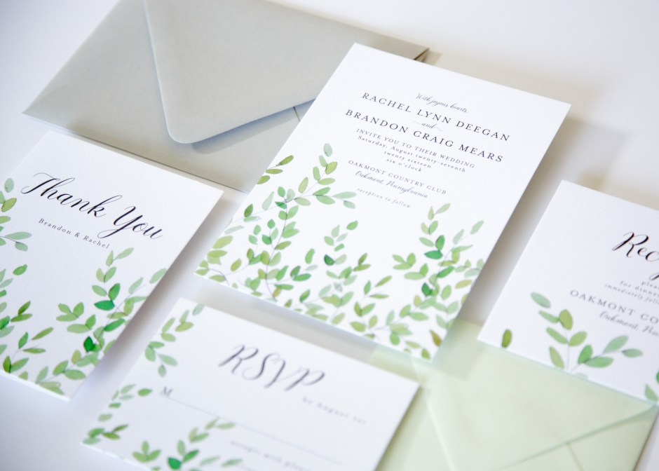botanical branches wedding suite