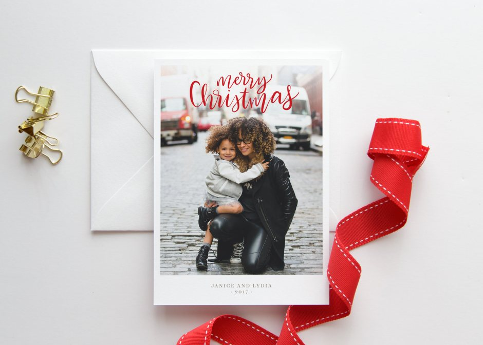 Christmas Card with Photo