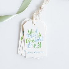 Christmas Hanging Tag