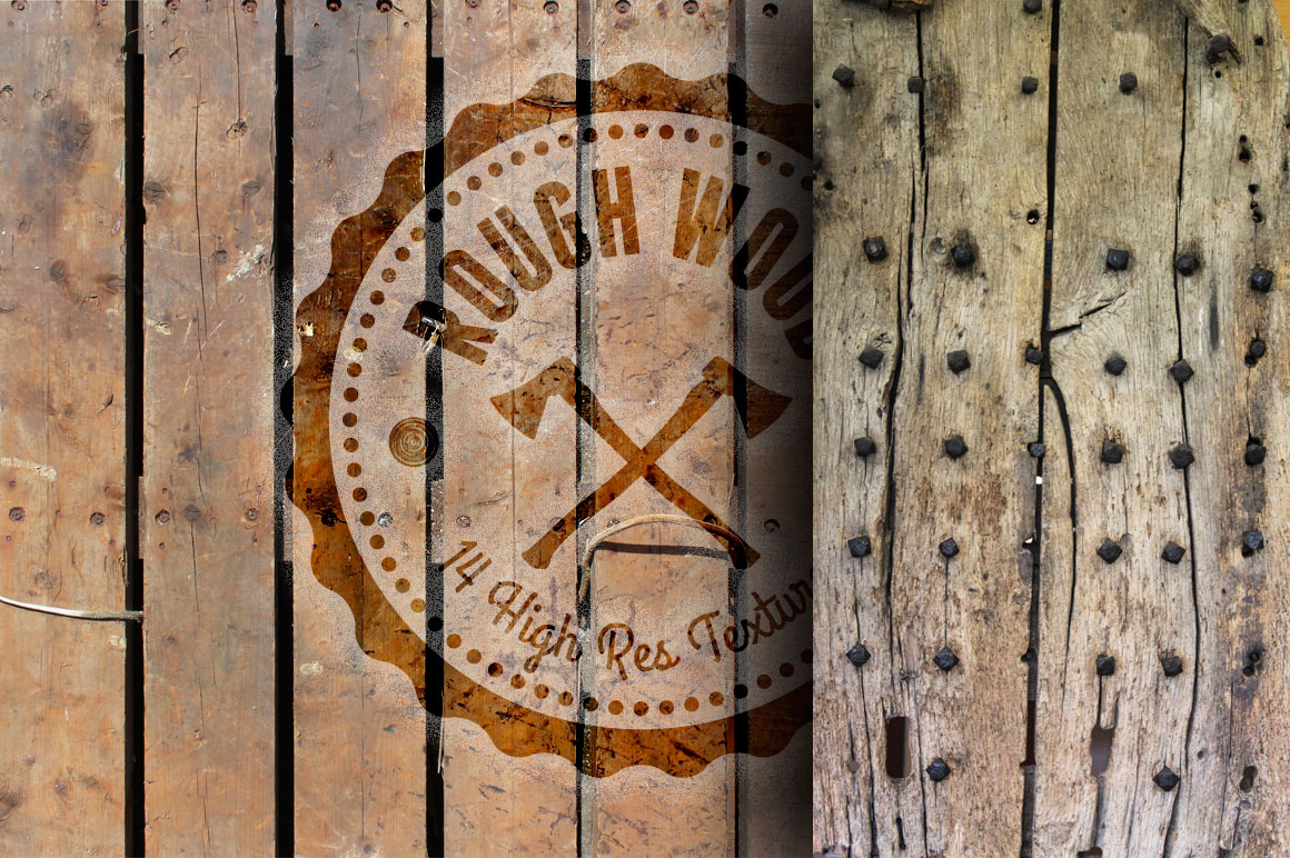 Rough Wood Texture Set 14 HR And Royalty Free Photos