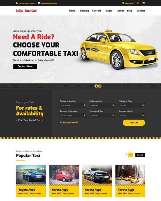 10/08/2018· the confirmation email template from hailo, a taxi management application developer, is quite short and simple. 40 Best Car Rental Taxi Website Templates Free Premium Freshdesignweb