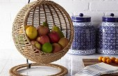 Custom Wall Mounted Baskets For Fruit
