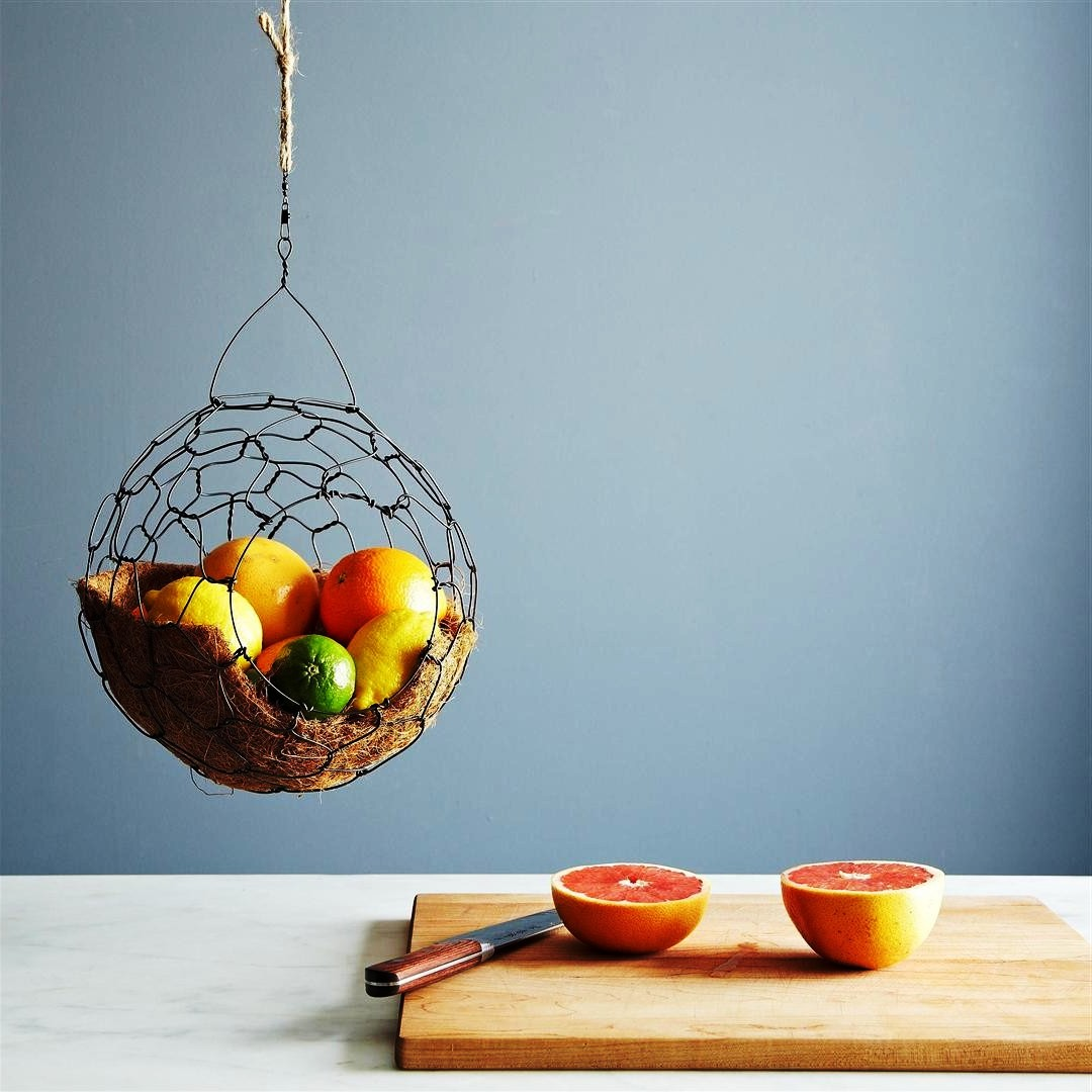 Wall Mounted Wire Fruit Basket