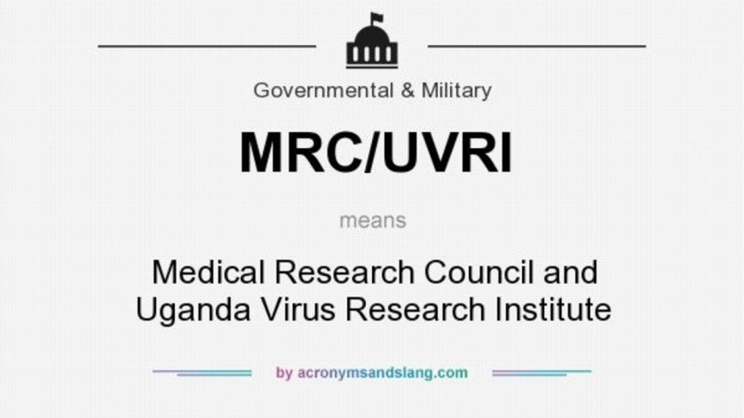 MRC/UVRI Jobs Uganda 2021