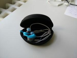 Case with Jabra Sport Coach wireless