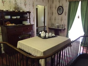 Dining Room of Lincoln's home