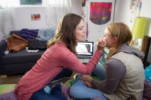 Keira Knightley and Chloë Grace Moretz star in Laggies. Photo courtesy of A24.