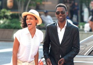 Rosario Dawson and Chris Rock star in TOP FIVE. Photo courtesy of Paramount Pictures.