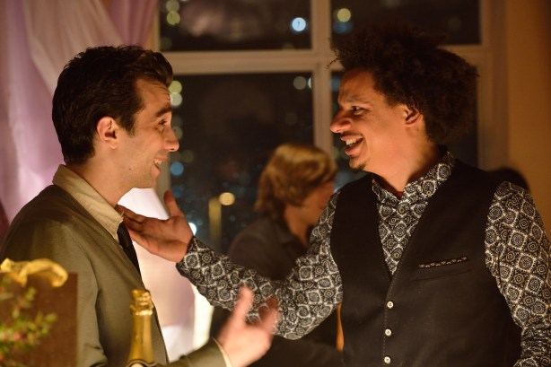 """MAN SEEKING WOMAN -- Episode 1: """"Lizard"""" (Airs Wednesday, January 14, 10:30 PM e/p). Pictured: (L-R) Jay Baruchel as Josh, Eric Andre as Mike. CR: Michael Gibson/FXX."""