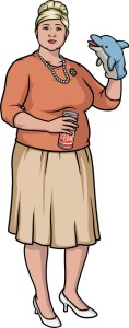Pam Poovey (voiced by Amber Nash) of ARCHER. Photo courtesy of FX.