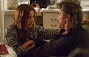 Greta Gerwig and Al Pacino star in THE HUMBLING. Photo courtesy of Millennium Entertainment.