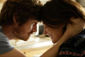 Anders Holm and Cobie Smulders in the bittersweet UNEXPECTED.