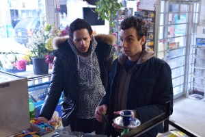 "MAN SEEKING WOMAN -- Episode 8: ""Branzino"" (Airs Wednesday, March 4, 10:30 PM e/p). Pictured: (L-R) Eric Andre as Mike, Jay Baruchel as Josh. CR: Michael Gibson/FXX"