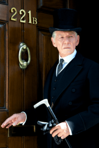 Ian McKellen in MR. HOLMES. Photo courtesy of Roadside Attractions / John Stow.