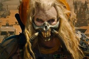 Hugh Keays-Byrne is scary-good as Immortan Joe. Photo courtesy of Warner Bros.