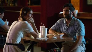 Kristen Wiig and Wes Bentley star in WELCOME TO ME. Photo courtesy of Alchemy.