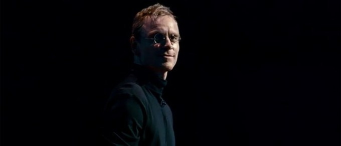 Michael Fassbender is STEVE JOBS. Courtesy of Universal Pictures