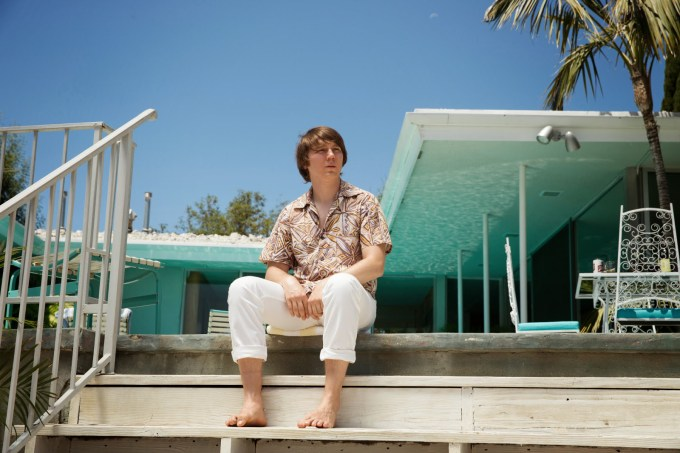 Paul Dano portrays Brian Wilson's life in the 60s in LOVE & MERCY. Photo courtesy of Roadside Attractions.