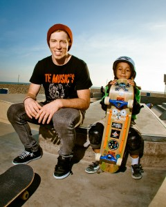 Shawn White and Asher Bradshaw. Photo courtesy of Vegababy Releasing.