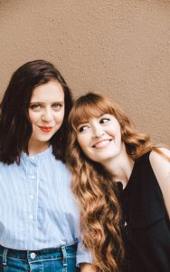 Bel Powley, the star of THE DIARY OF A TEENAGE GIRL, and the film's director, Marielle Heller. Photo courtesy of Elizabeth Weinberg/The New York Times.
