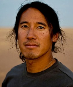 Jimmy Chin, co-director and one of the three subjects of MERU.