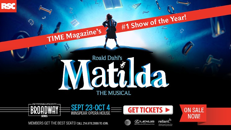 Theater Review: 'MATILDA THE MUSICAL' Takes Dallas By Storm