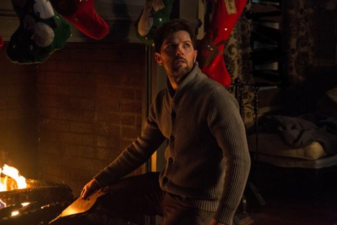Adam Scott stars in KRAMPUS. Photo courtesy of Universal Pictures.
