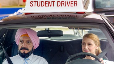 Ben Kingsley as Darwan (Left) & Patricia Clarkson as Wendy (Right)