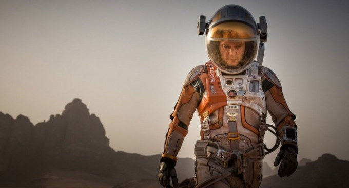 Matt Damon is Astronaut Mark Watney in THE MARTIAN. Photo courtesy of 20th Century Fox.