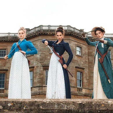 Trailer: The Bennet Sisters Slay In 'PRIDE AND PREJUDICE AND ZOMBIES'