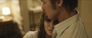 Angelina Jolie-Pitt and Brad Pitt star in BY THE SEA. Courtesy of Universal Pictures.