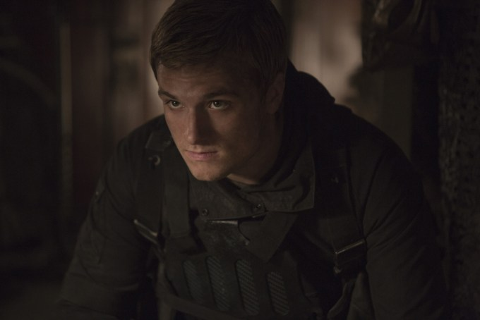 Josh Hutcherson stars as 'Peeta Mellark' in THE HUNGER GAMES: MOCKINGJAY - PART 2. Photo Credit: Murray Close