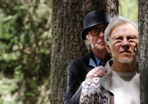 Michael Caine and Harvey Keitel in YOUTH. Photo courtesy of Fox Searchlight Pictures.