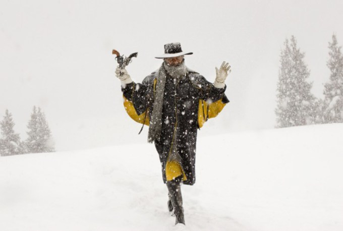 SAMUEL L. JACKSON stars in THE HATEFUL EIGHT Photo: Andrew Cooper, SMPSP / © 2015 The Weinstein Company. All Rights Reserved.