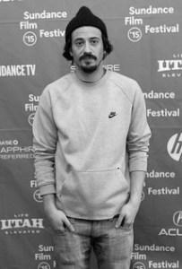 Filmmaker Josh Mond at the Sundance Film Festival.
