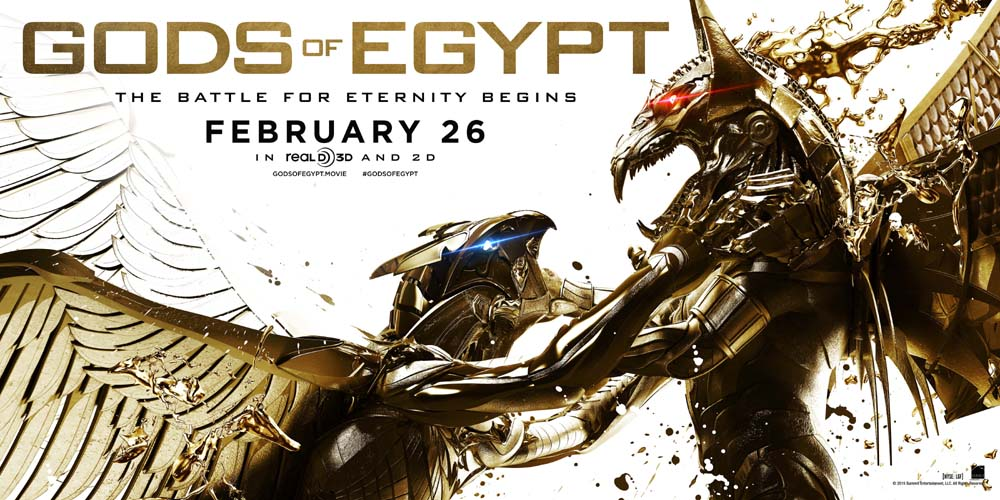 GODS OF EGYPT Is An Epic Fantasy Tale On So Many Levels