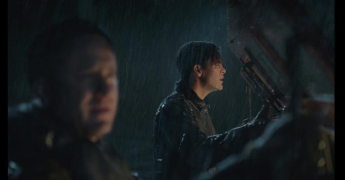Ben Foster and Chris Pine in THE FINEST HOURS. Courtesy of Walt Disney Pictures.